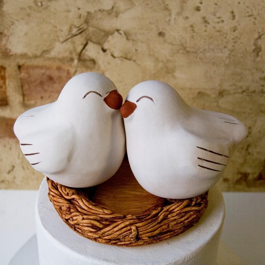 Свадьба - Happy Love Bird Cake Topper