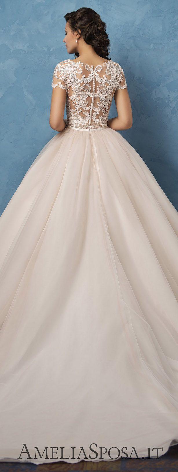 Свадьба - Amelia Sposa 2017 Wedding Dresses - Royal Blue Collection