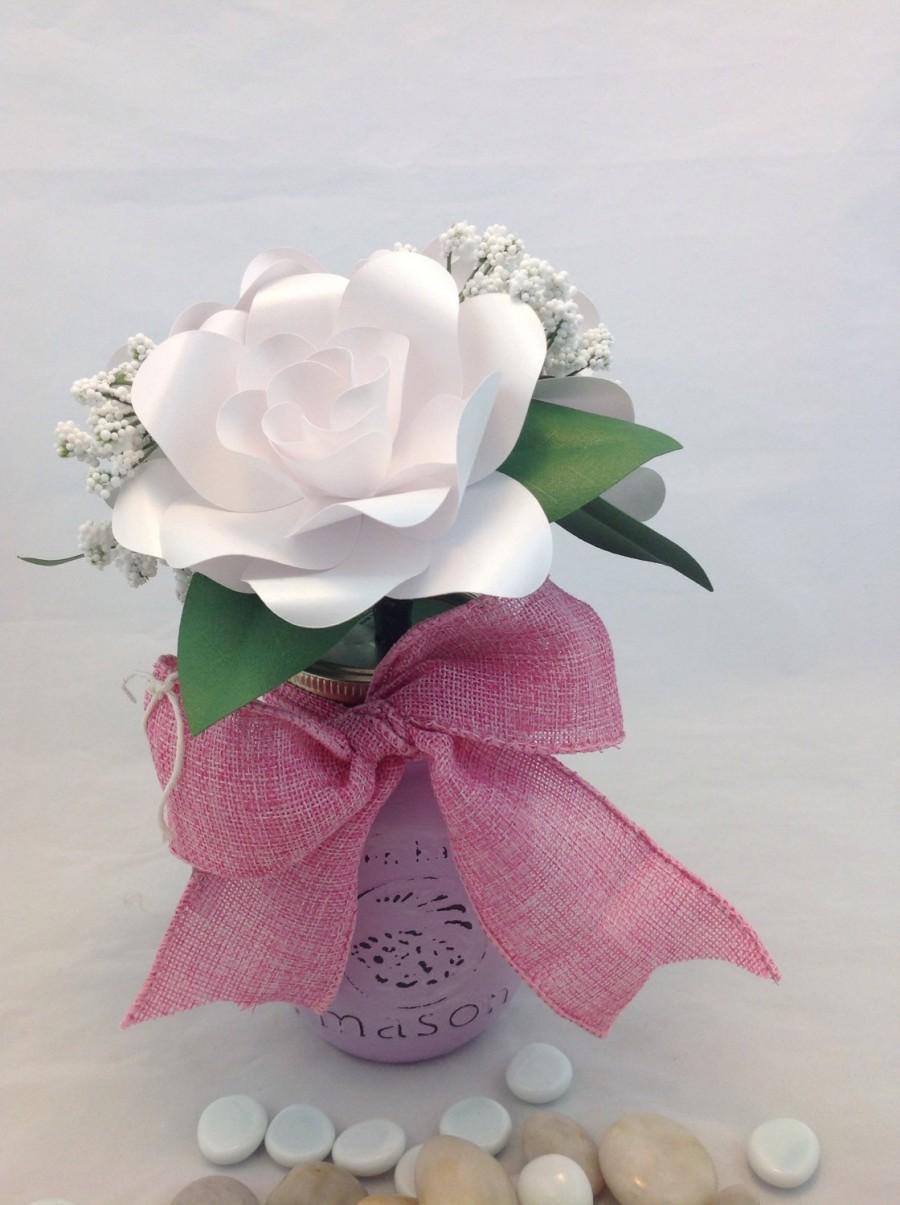 Свадьба - Gardenia Table Centerpiece, Wedding Centerpiece