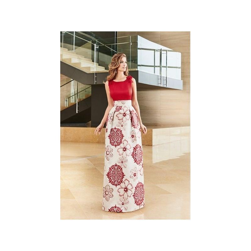 Hochzeit - Vestido de fiesta de Nati Jiménez Modelo 401 - 2017 Vestido - Tienda nupcial con estilo del cordón