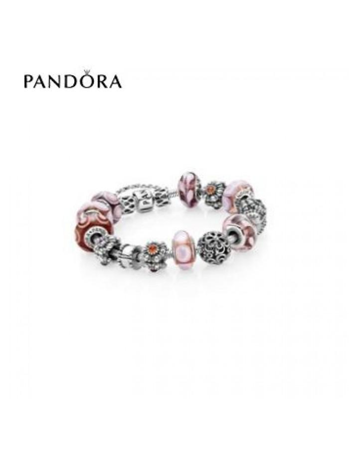 Wedding - pandora Magasin - Bracelets Pandora Prix * Pandora Tickled Rose Inspirational Bracelet
