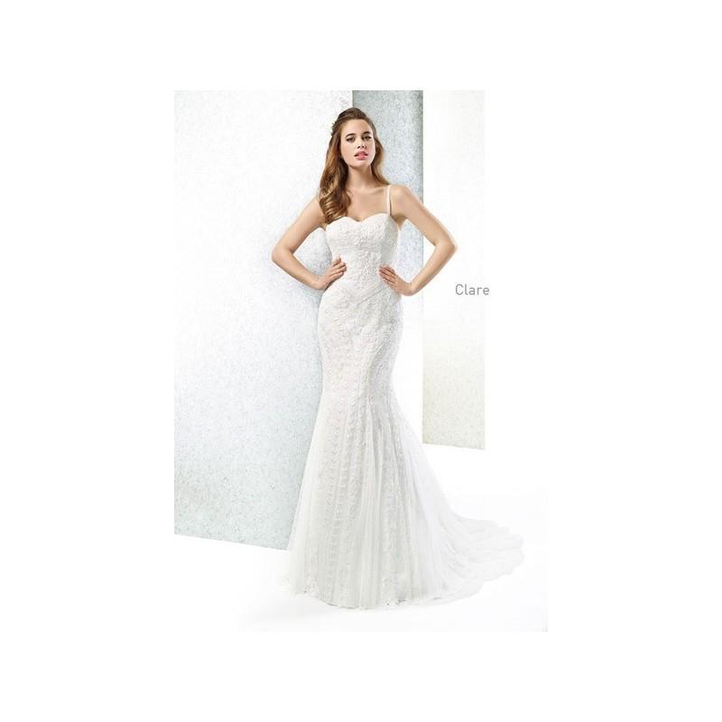 Hochzeit - Vestido de novia de Cabotine Modelo Clare - 2015 Sirena Tirantes Vestido - Tienda nupcial con estilo del cordón