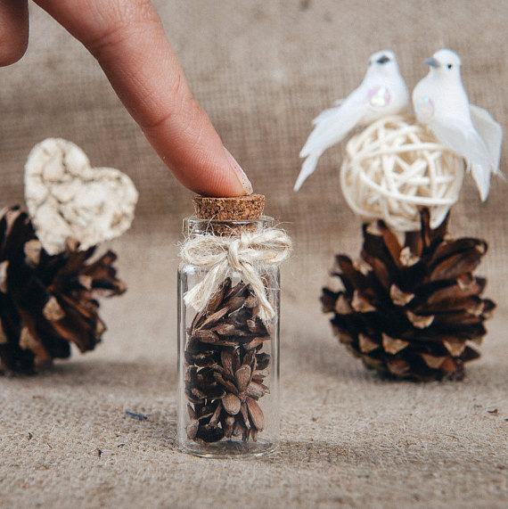 Свадьба - Wedding favor Rustic wedding favors