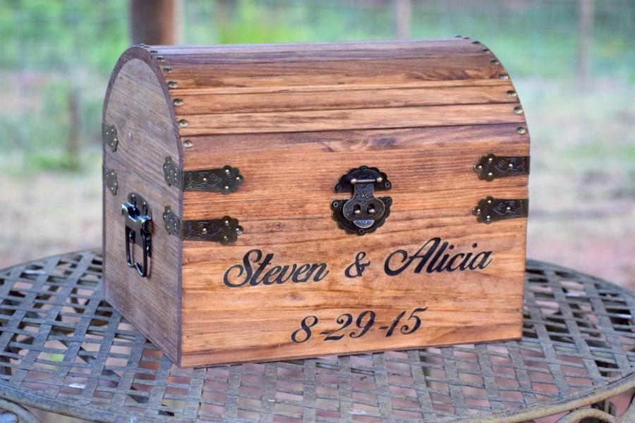 Свадьба - Rustic Wooden Card Box - Rustic Wedding Card Box - Rustic Wedding Decor - Advice Box Wishing Well - Shabby Chic Card Box - Wedding Card Box