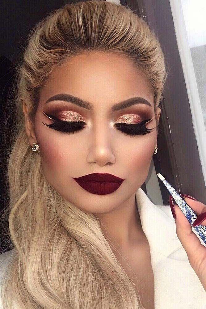 Свадьба - 18 Best Winter Makeup Looks For The Holiday Season