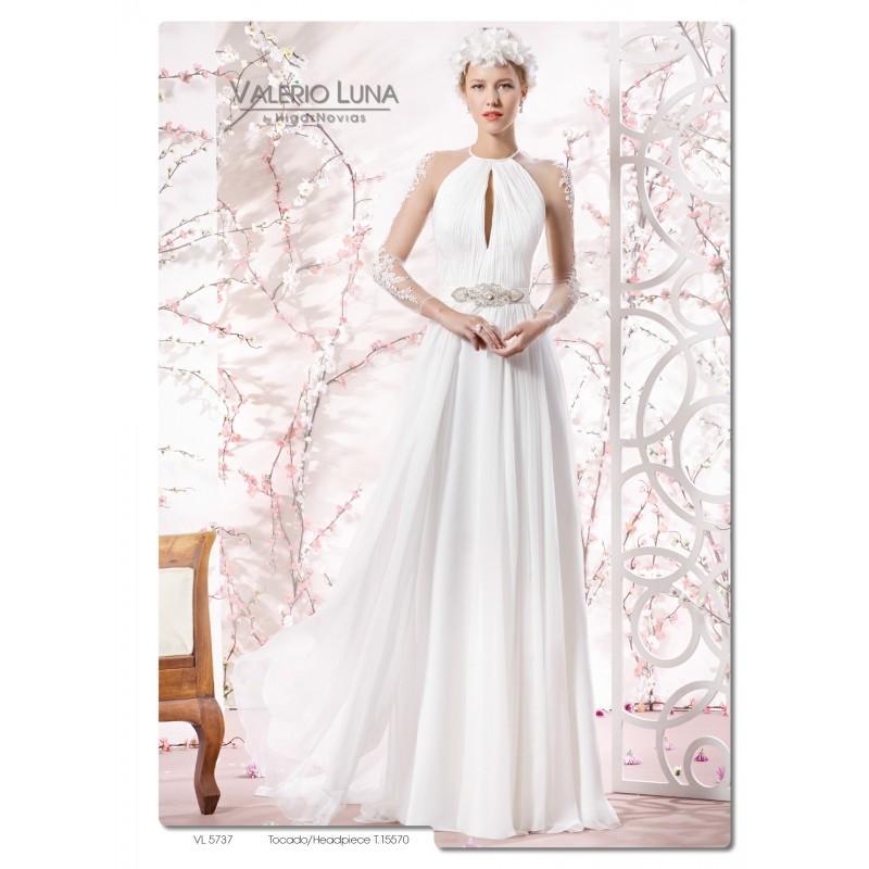 vl5737 (valerio luna) - vestidos de novia 2017 #2645503 - weddbook