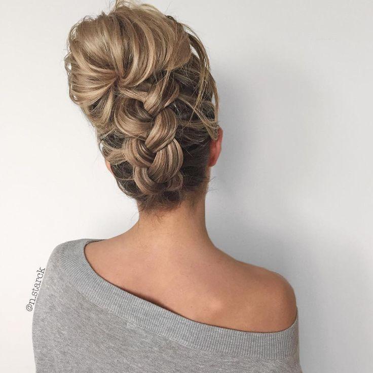Прически коса убирающая волосы