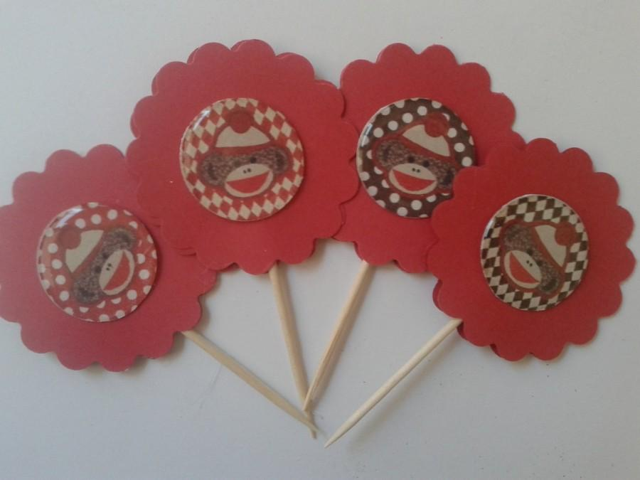 Wedding - Cupcake Toppers/Party Favors/Cake Toppers/ Theme Party Favor
