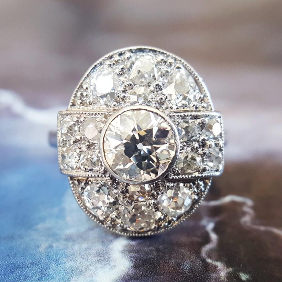 Mariage - Art Deco Engagement Ring