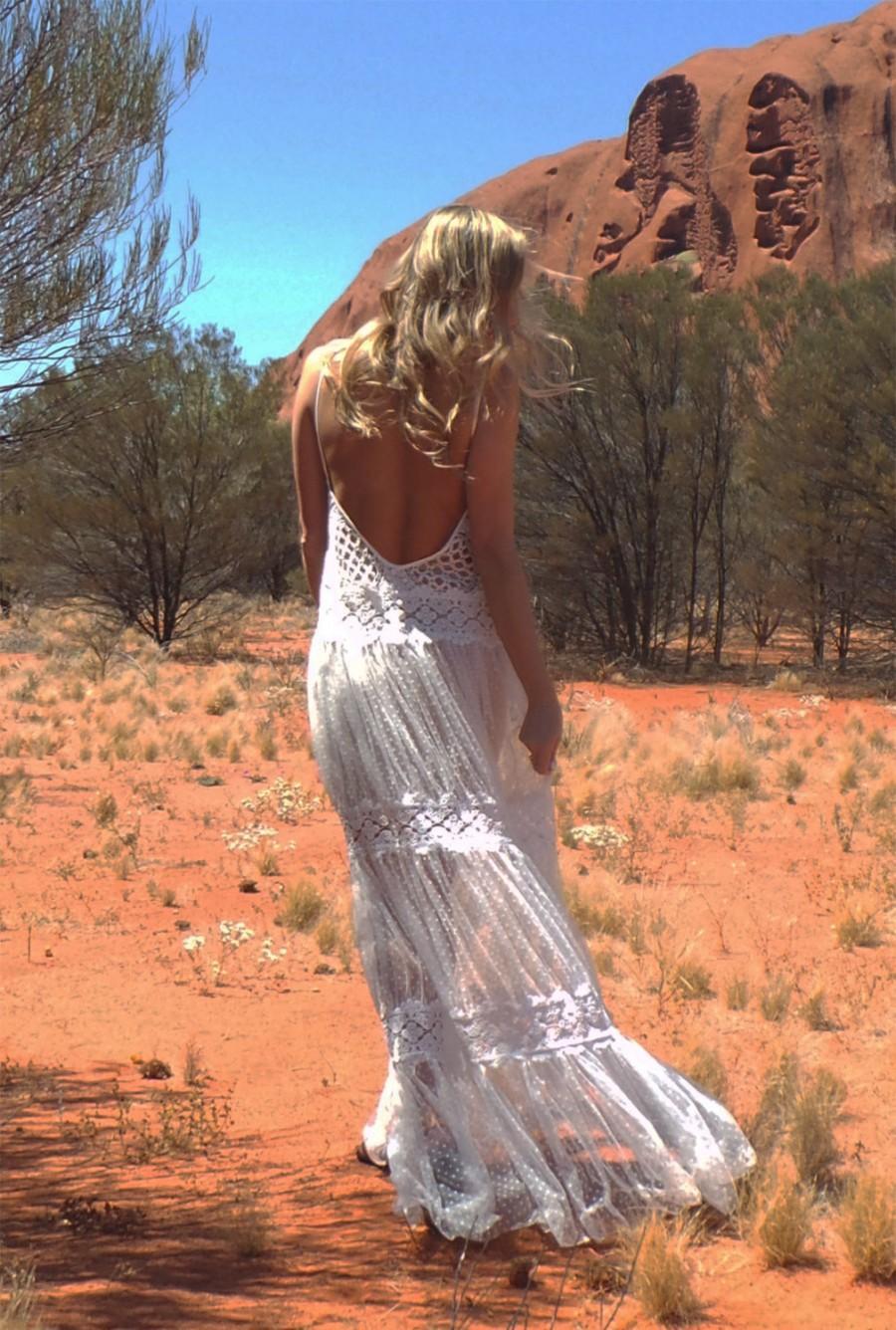 Wedding - The Wanderer lace wedding dress
