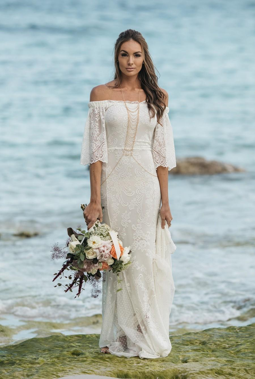 Wedding - You've Got the Love lace wedding dress