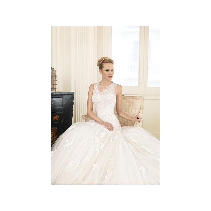 Boda - Vestido de novia de MKarin Modelo MK201415 - 2013 Princesa Tirantes Vestido - Tienda nupcial con estilo del cordón