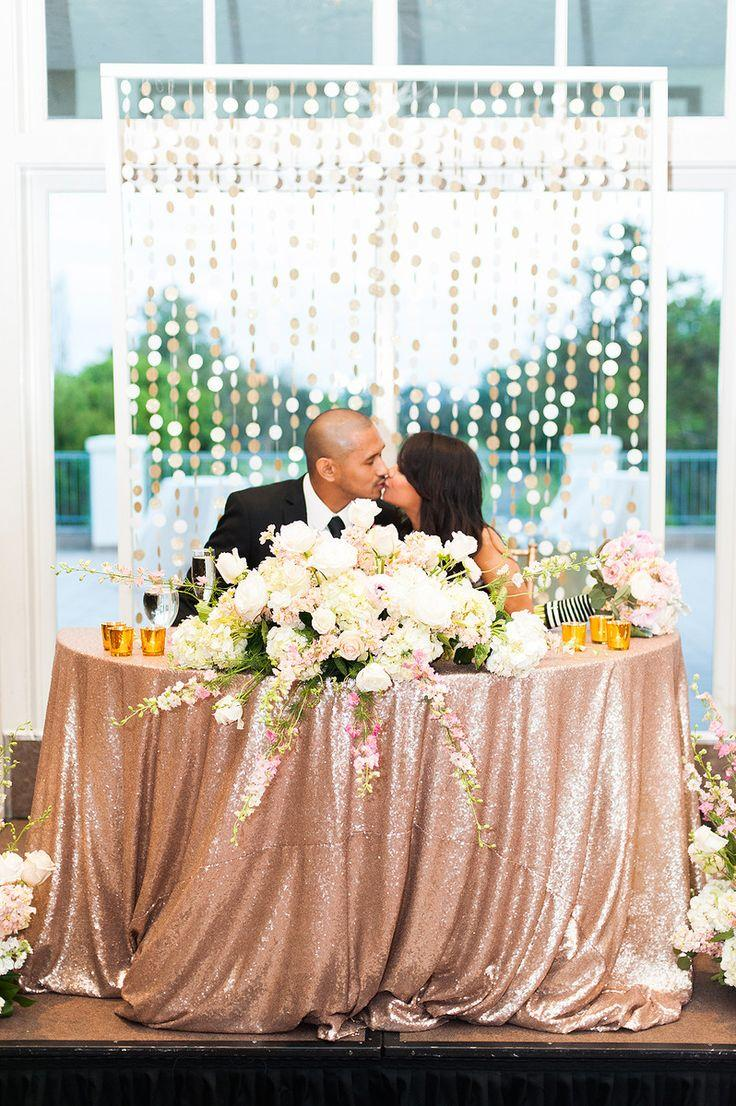 Свадьба - Blush And Gold Wedding