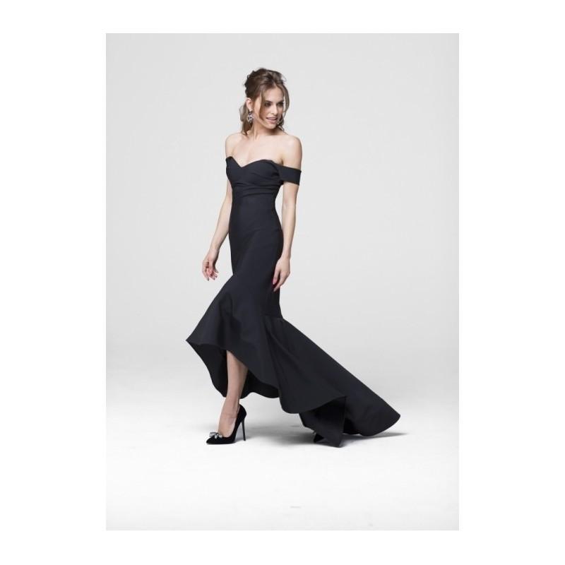 Mariage - Tarik Ediz 50011 Prom Dress - Tarik Ediz Prom Off the Shoulder, Sweetheart Trumpet Skirt Long Dress - 2017 New Wedding Dresses