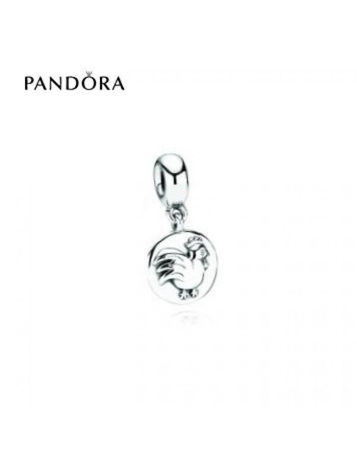 Boda - Bonne Qualité - Acheter Pandora Paris Soldes * Pandora Chinese Zodiac Charm Rooster Retired Sur charmspandorasoldes.com