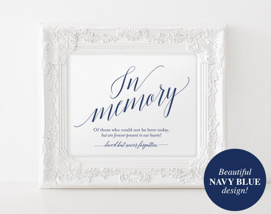 in memory sign, in loving memory sign, memory sign, memorial table, Powerpoint templates