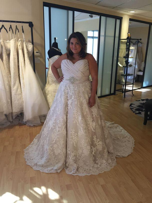 Wedding - {Bridal Blogger} Wedding Dress Shopping For Plus Size Brides