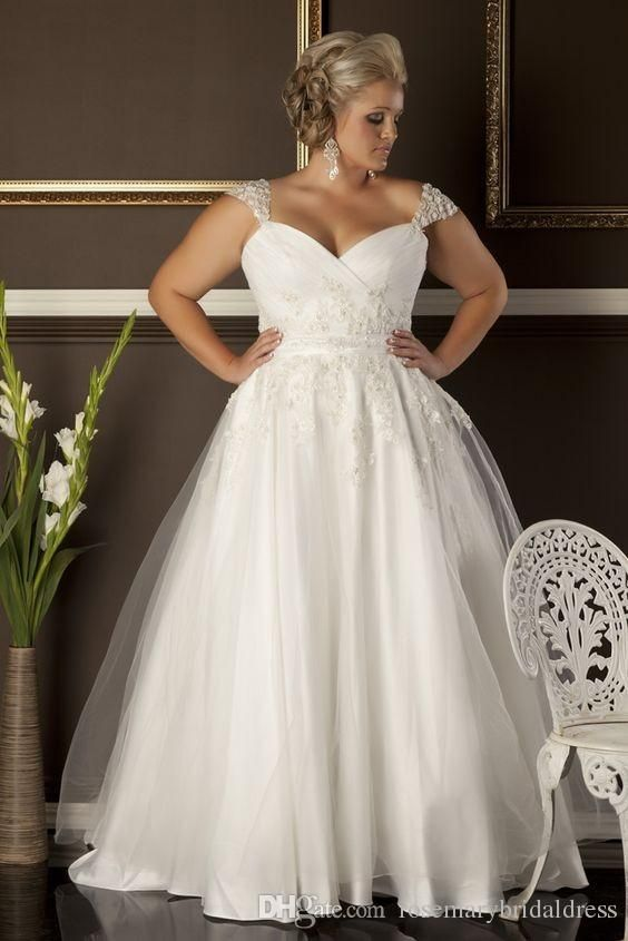 A line plus size wedding dresses cheap sweetheart neckline for Wedding dress plus size cheap