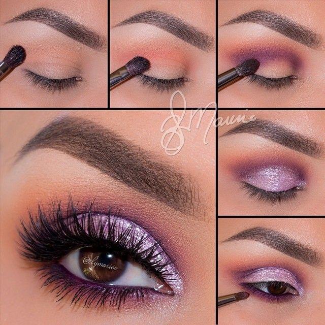 Wedding - Brown Eye Makeup tips