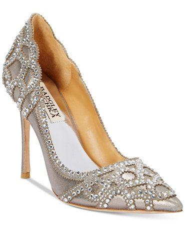 Düğün - Badgley Mischka Rouge II Evening Pumps
