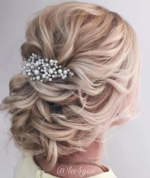 زفاف - 40 Chic Wedding Hair Updos For Elegant Brides