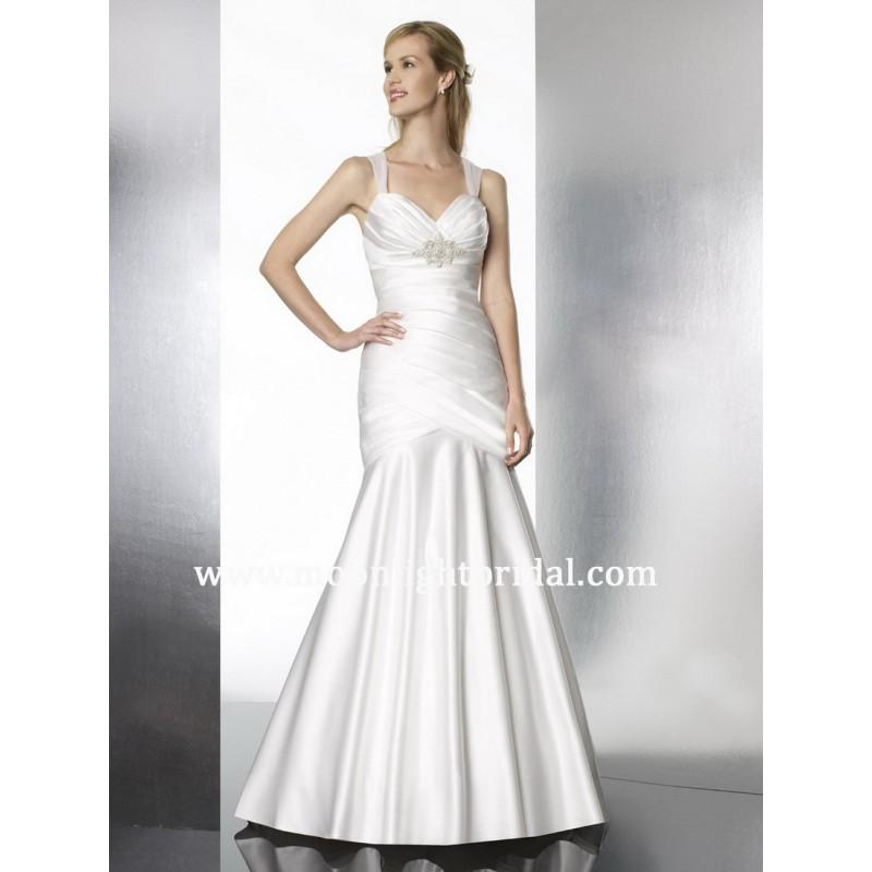 Wedding - Moonlight Tango T579 Bridal Gown (2013) (MN13_T579BG) - Crazy Sale Formal Dresses