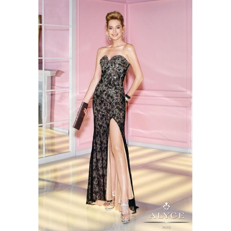Wedding - Alyce Prom Dress Style  6270 - Charming Wedding Party Dresses