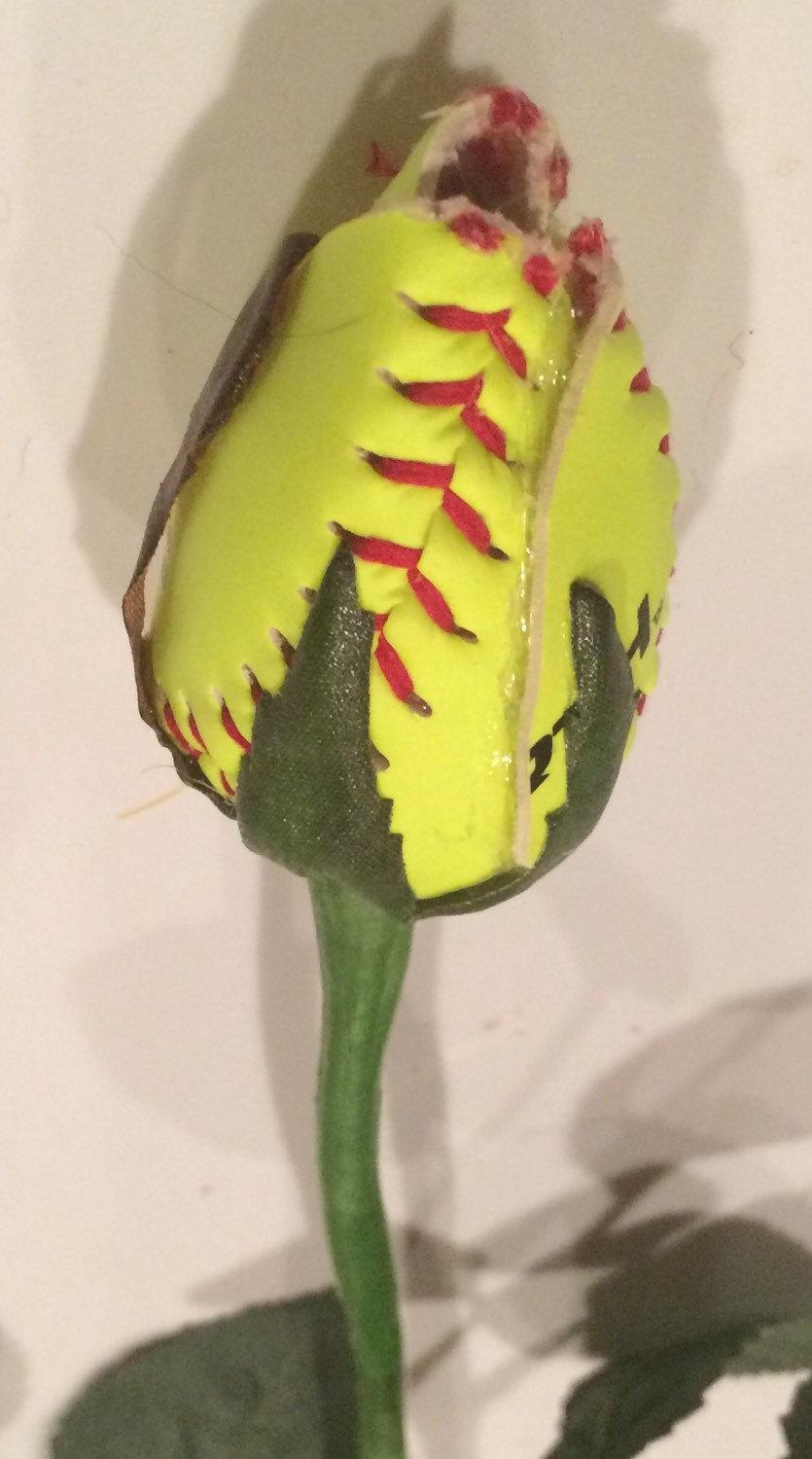 Свадьба - 3 Softball Sports Rose Bud