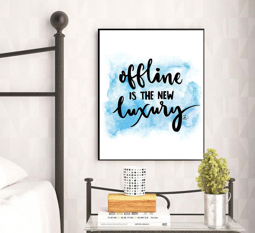 Wedding - Typography art, typography print, offline quote, luxury quote, fashion illustration, fashion watercolor, typography wall art