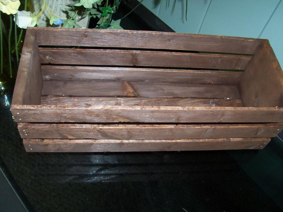 On sale wood crates table centerpieces in rustic