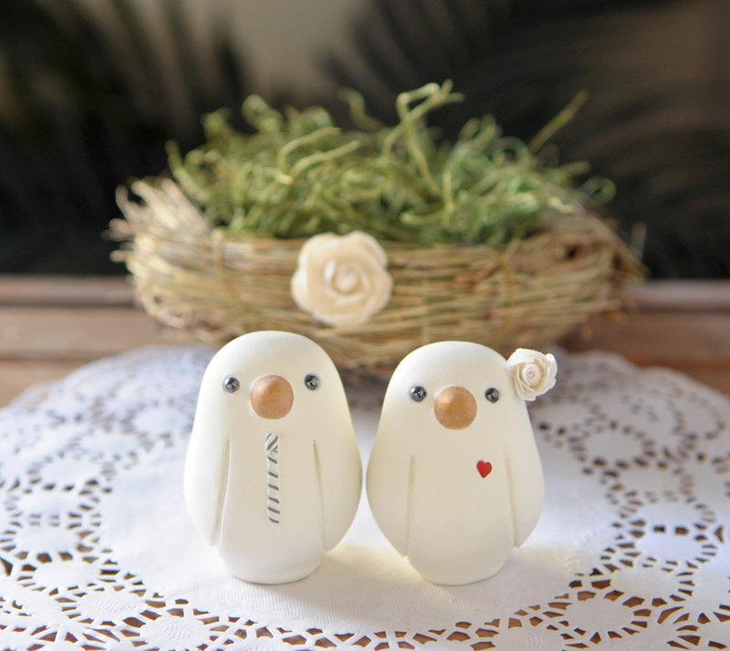 Dekor Wedding Cake Topper Love Birds Small 2648022 Weddbook