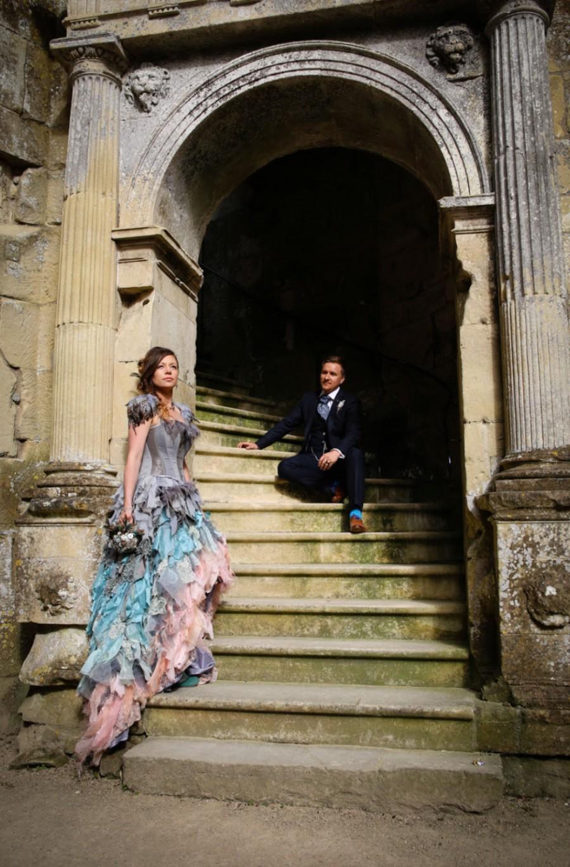 Wedding - Bespoke wedding dress. Alternative corset dress / prom. Cinderella. Custom MADE TO ORDER colours of your choice