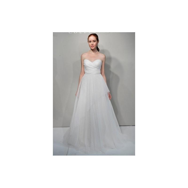 Hochzeit - Jenny Yoo FW12 Dress 9 - Sweetheart Jenny Yoo Full Length Ivory Fall 2012 A-Line - Nonmiss One Wedding Store
