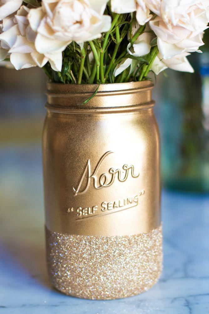 Mariage - 10 DIY Glass Jar Upcycles - The Enchanting Life