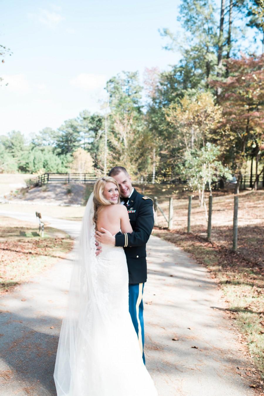 Mariage - Lace Wedding Veil- Eyelash Lace