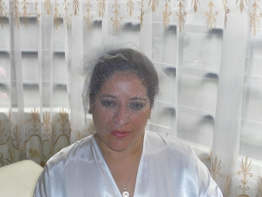 Mariage - Bridal veil, traditional veil, tulle veil, summer veil, short veil, flower veil
