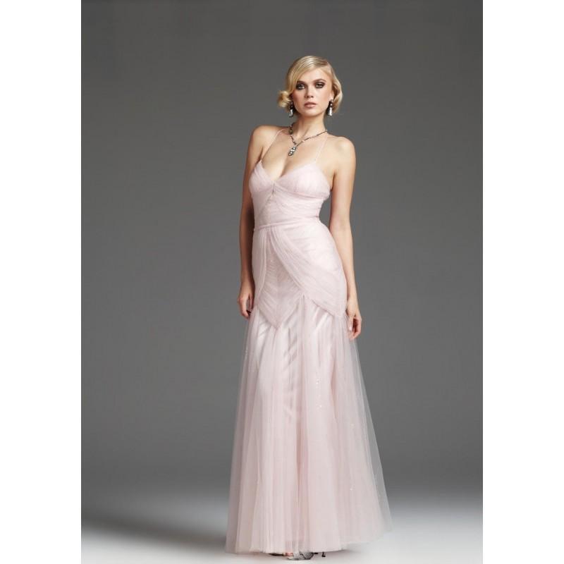 Hochzeit - Girls 2014 Ruched Straps Pink Mignon Surplice Prom Dress Vm945 - Cheap Discount Evening Gowns