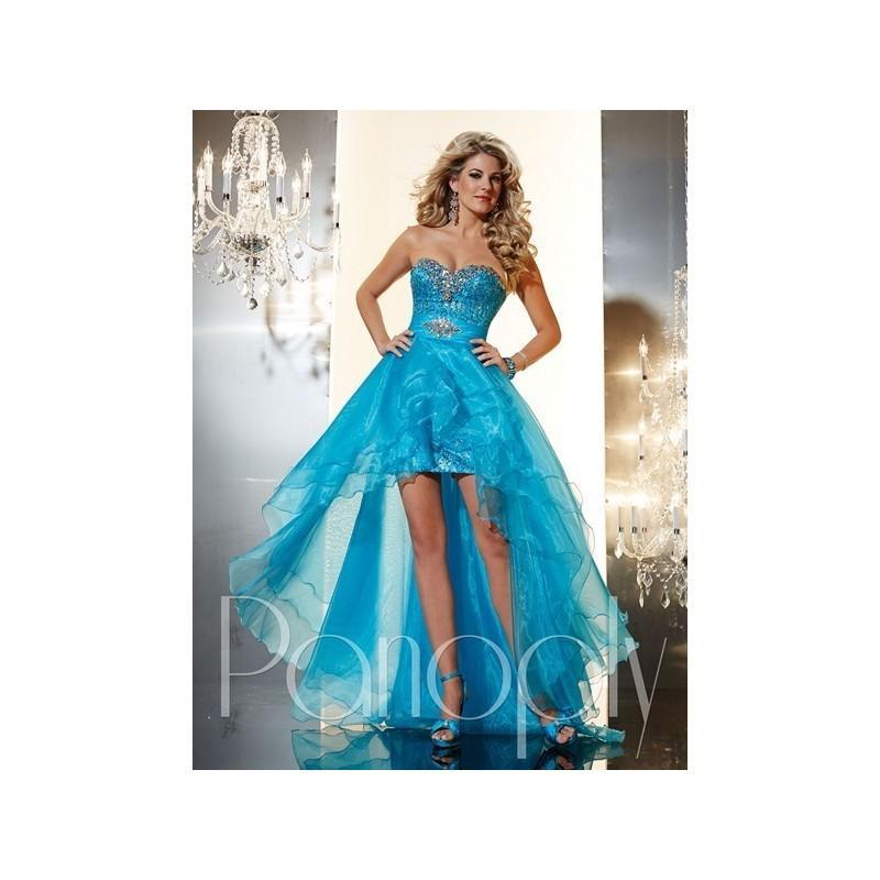 Свадьба - Panoply 14618 - Strapless, Sweetheart High-Low Length Prom Asymmetrical Panoply Dress - 2017 New Wedding Dresses