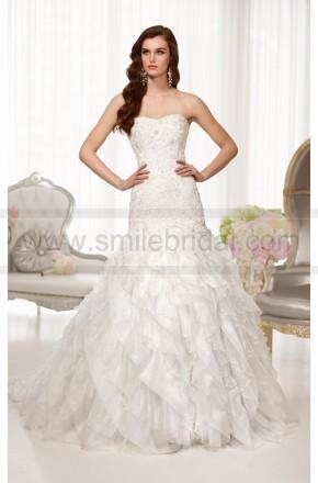 Wedding - Essense Wedding Dress Style D1559 Organza A-Line Strapless
