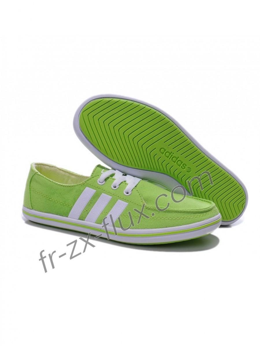 adidas neo femme vert
