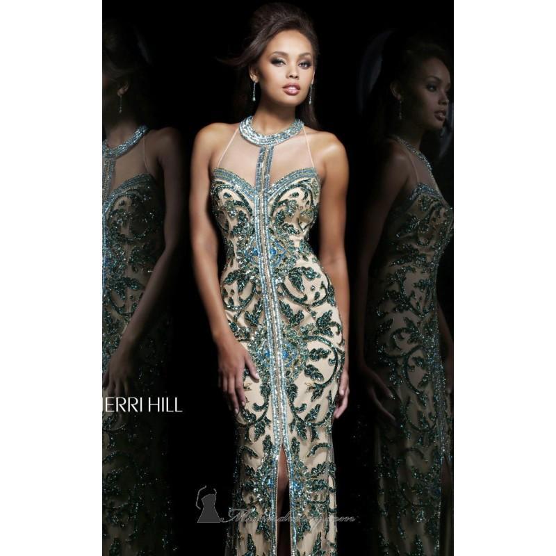 Open Back Gown By Sherri Hill 1711 Dress - Cheap Discount Evening ...