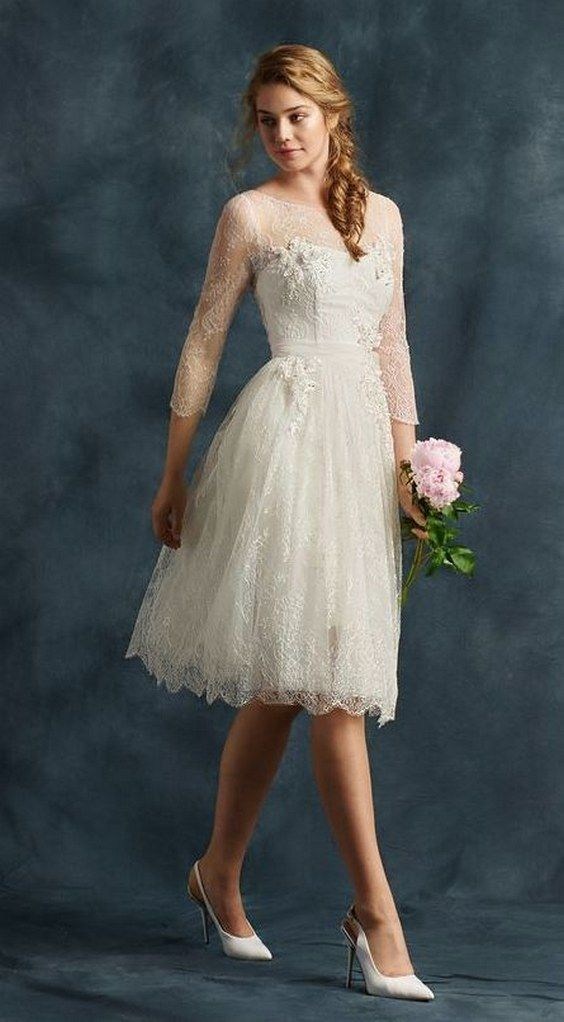 40 Prettiest Rehearsal Dinner Short Wedding Dresses #2649454 - Weddbook
