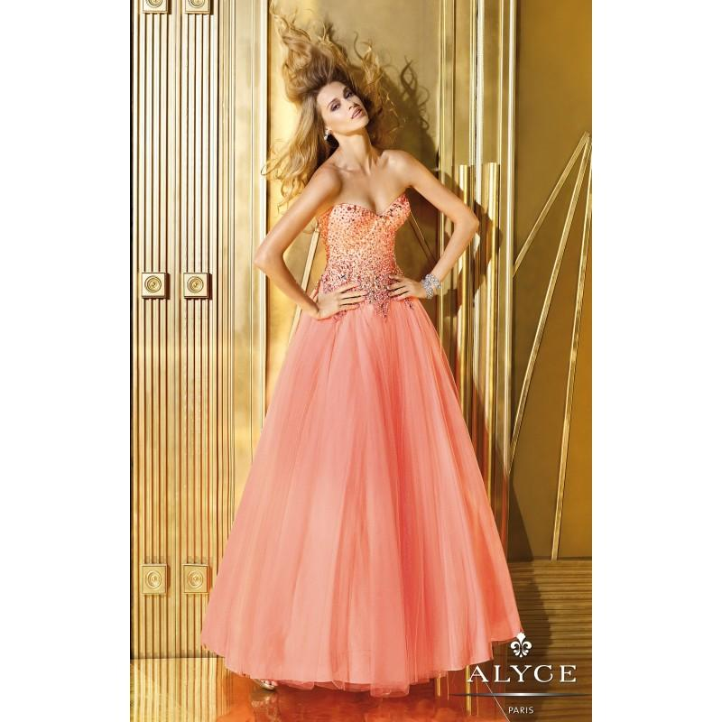 Wedding - Alyce Paris - 6195 - Elegant Evening Dresses