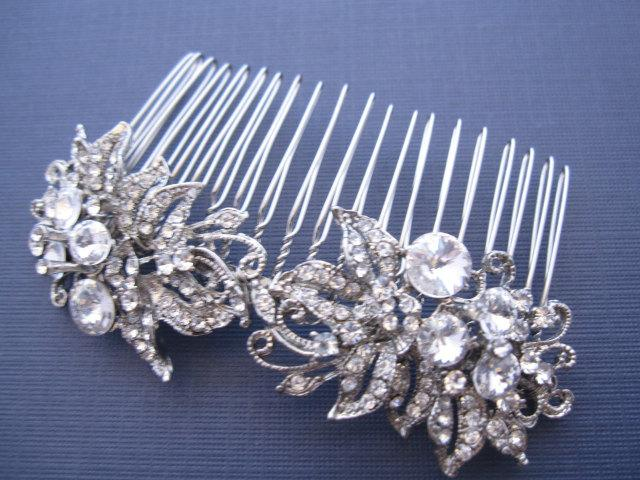 Свадьба - Wedding hair accessory Hair comb Bridal hair comb vintage Wedding hair comb Bridal hair accessory Wedding headpiece Bridal hair piece comb
