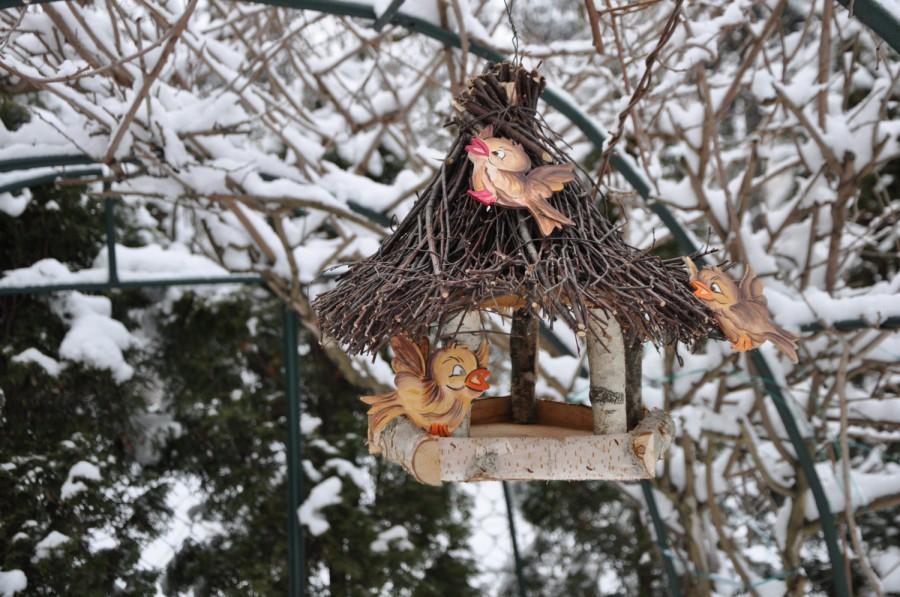 Hochzeit - Bird feeder, rustic bird feeder, birdhouse, outdoor birdhouse, rustic birdhouse, wooden birdhouses, bird houses handmade, bird lover gift