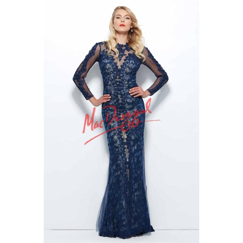 Wedding - Mac Duggal - 61913R - Elegant Evening Dresses