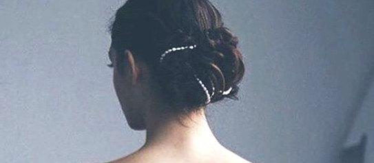 Wedding - Bridal Headband, Crystal Headband, Rhinestone Headband, Wedding Headband, Bridal Hair Accessories, Bridal Hair Piece, Crystal Head Chain