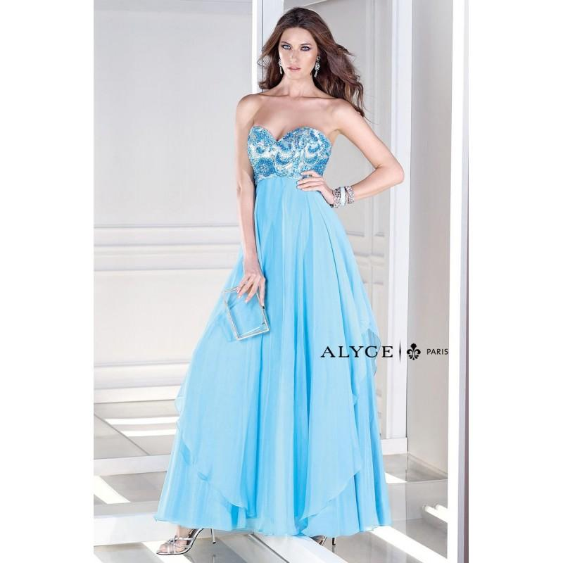 Hochzeit - Alyce BDazzle 35678 Layered Chiffon Gown - Brand Prom Dresses