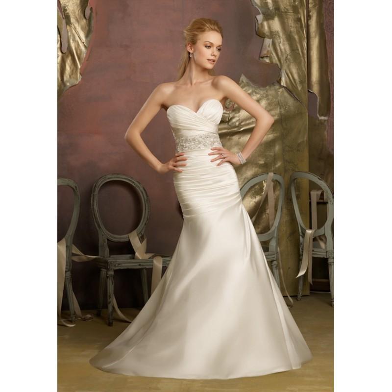 Свадьба - Mori Lee 6732 Bridal Gown (2013) (ML13_6732BG) - Crazy Sale Formal Dresses