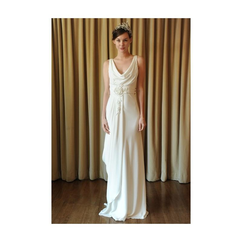 Temperley london spring 2013 chloe sleeveless silk a for Temperley london wedding dress sale